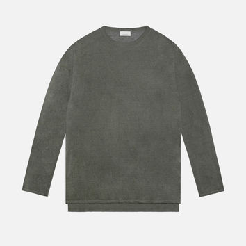Linen Mercer Sweater / Olive