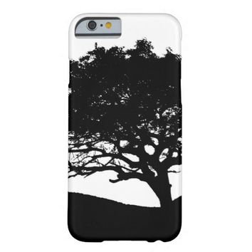 Tree Silhouette Barely There iPhone 6 Case