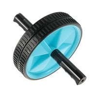 No Noise Abdominal Wheel Ab Roller Dual Rolling Wheel Core Ab Roller Wheel for Exercise Fitness Equipment Workout Accessory