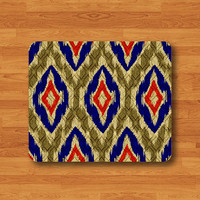 Abstract Art THAI Pattern Vintage Mouse Pad Drawing Chevron Desk Deco Mousepad Matte Computer Or Office Work Customized Christmas Gift