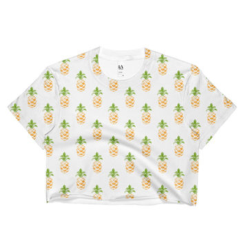 The Indie Pineapple Crop Top
