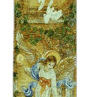 Angel of Light w/Verse Bell Pull Tapestry Wall Hanging