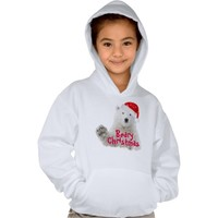 Santa Polar Bear | Beary Christmas T-Shirt