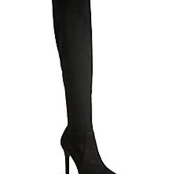 Joie - Jemina Over-The-Knee Suede Boots - Saks Fifth Avenue Mobile