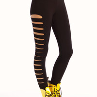 side-cut-out-leggings BLACK - GoJane.com