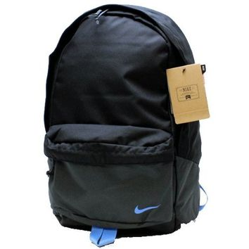 New Nike SB Piedmont Backpack Black/Anthracite/Distance Blue