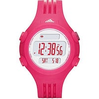 Adidas Performance Questra Pink Digital Polyurethane Watch - Pink