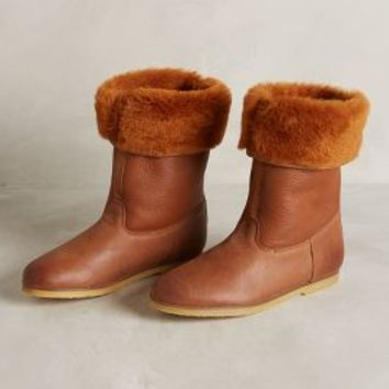 KMB Cassley Boots Brown