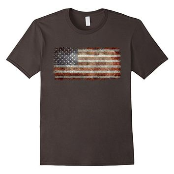 Old Glory, Vintage Grungy US flag T-Shirt