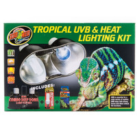 Zoo Med Tropical Reptile UVB & Heat Lighting Kit