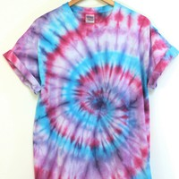 ONE OF A KIND Tie Dye Unisex Tee #1 Size Large