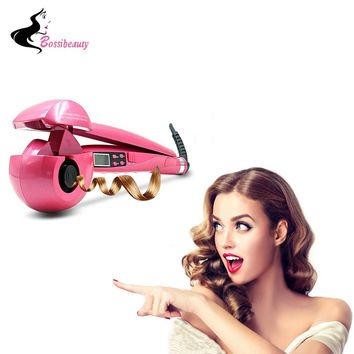 Automatic Hair Curler Pro Ceramic Hair Curling Iron Magic Wave Curl Roller Curling Wand Hair Styler