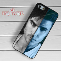 Ian Somerhalder Paul Wesley The Vampire Diaries - zFzF for  iPhone 6S case, iPhone 5s case, iPhone 6 case, iPhone 4S, Samsung S6 Edge