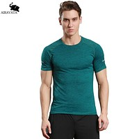 Men T Shirt Printed Tops Tees Men Short Sleeve O Neck T Shirt Men Trends Fitness Patchwork T shirt Men Breathable Shirts