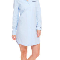 Vineyard Vines Oxford Shirt Lounge Dress- FINAL SALE