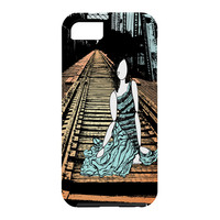 Amy Smith Meet me at the bridge Cell Phone Case