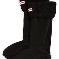 Women's Hunter 'Guernsey' Tall Fleece Boot Socks