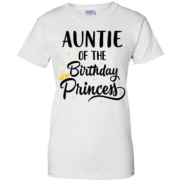Auntie Of The Birthday Princess Matching Family Party