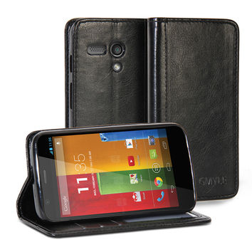 Wallet Case Simple for Motorola Moto G (2013)