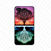 tree of life - iPhone 4 Case iPhone 5 Case iPhone 4 / 4S / 5 Case Hard Cover, Samsung Galaxy S3 S4 case