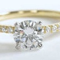 1.53ct J-SI1 GIA Round Diamond Engagement Ring JEWELFORME BLUE 900,000 GIA certified diamonds