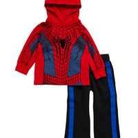 Nannette Boys 2-7 Two Piece Spiderman Sweatsuit
