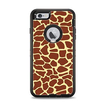 The Simple Vector Giraffe Print Apple iPhone 6 Plus Otterbox Defender Case Skin Set