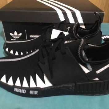 DCCKB7E Adidas x Neighborhood NBHD NMD R1 PK UK10 US 10.5 Authentic