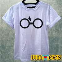 Harry Potter Glasses Women T Shirt