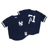 Mitchell & Ness Bernie Williams 1998 Authentic Mesh BP Jersey NY Yankees