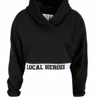 Local Heroes Cropped Hoodie