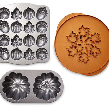 3-Pc Fall Bakeware Set, Bakers & Casseroles