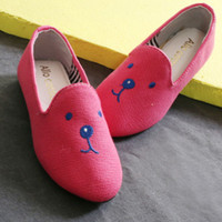 Pink Bear Loafers