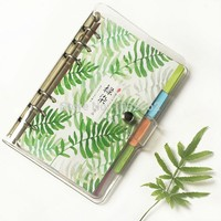 New Transparent Planner Cover, A5 a6 a7 Clear Notebook, Spiral Personal Bullet Journal Shell