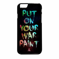 Fall Out Boy Put On Your War iPhone 6 Plus Case