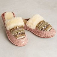 Lilka Beaded Moccasin Slides