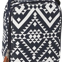 Old Navy Girls Zip Top Lunch Bag Size One Size - Chambray print