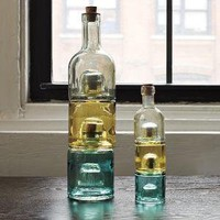 Recycled Spanish-Glass Stacking Vases | west elm