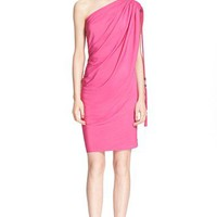 Lanvin Rope Tie One Shoulder Dress | Nordstrom
