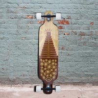 "Bamboo 40"" Twin Tip DT Maize Mountain Longboard (South) - Complete"