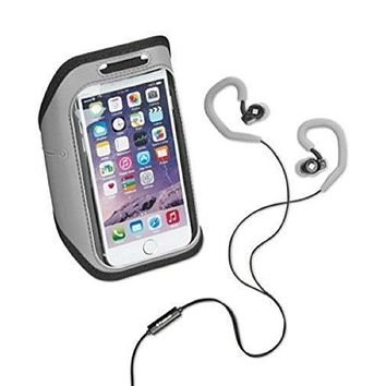 Polaroid Gray Armband And Earbuds Set