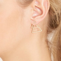Geo-Shaped Ear Jackets