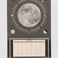 Hammerpress Moon 2015 Tear-Off Wall Calendar- Black One