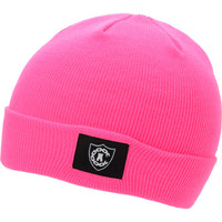 Crooks and Castles Girls Emblem Hot Pink Fold Beanie at Zumiez : PDP