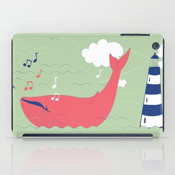 The Singing Whale iPad Case by Texnotropio