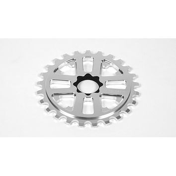 FIT 24mm KEY DRIVE SPROCKET 25T RAW SILVER