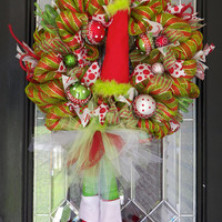 Deluxe Christmas Wreath, Christmas Door Hanger, Christmas Decoration
