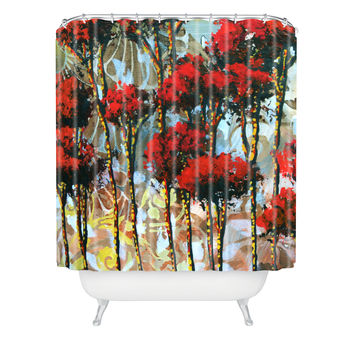 Madart Inc. Whispering Trees Shower Curtain
