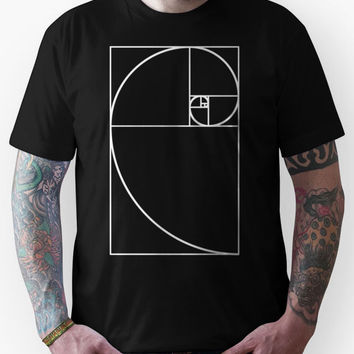 Golden Ratio - White  Unisex T-Shirt