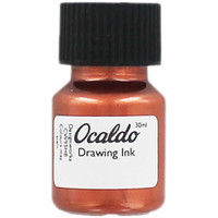 Copper Drawing Ink - 30ml | Calligraphy Pens at The Works